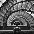 St. Augustine Lighthouse Staircase by photodug