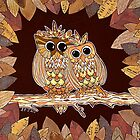 Owlways Love You by Lisa Frances Judd~QuirkyHappyArt