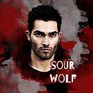 Derek: Sour wolf by iheartgallifrey