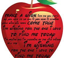 Snow White - I'm Wishing Lyric Print by acrossthesun