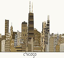 chicago city vintage  by bri-b