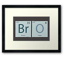 BrO Framed Print