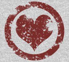 Grunge Heart by myfluffy