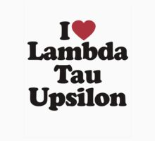 I Heart Love Lambda Tau Upsilon by HeartsLove