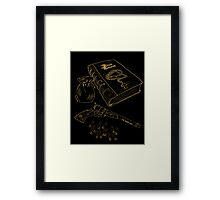 Hunter's Tools of the Trade Framed Print