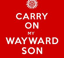 Carry on (My wayward son) by Nana Leonti