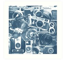 Classic Camera Collection Art Print