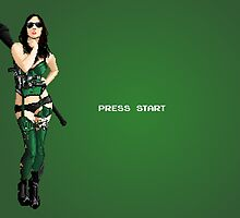 "8-bit ""Press Start"" Screen by tudy1311"