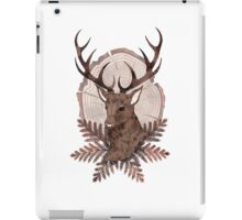 Monarch Stag Print iPad Case/Skin