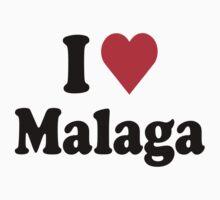I Heart Love Malaga T-Shirt