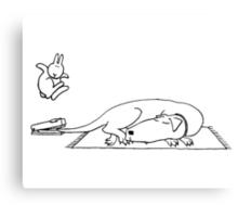 Suicide bunnies   Dog Canvas Print