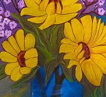 Sunflowers by susangabrielart