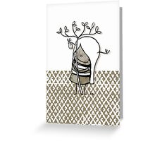 .....her name is Tree Greeting Card