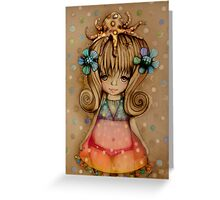 The Girl and the Octopus Greeting Card