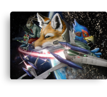 Star Fox Canvas Print