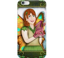 A Fairy and Her Dragon iPhone Case/Skin