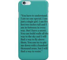 Lena Haloway Quote - Delirium Trilogy iPhone Case/Skin
