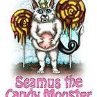 Seamus the Candy Monster by TASIllustration