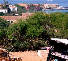 Goree Island, Senegal - Print by WonderMeMosaics