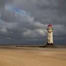 Talacre Lighthouse by alan tunnicliffe
