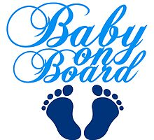 Baby On Board Boy by Style-O-Mat