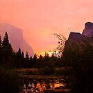 Fiery Morning at Yosemite by KerryPurnell