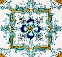 Victorian Wall Tiles Pattern by ernstc