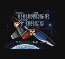 Thunder Force II (Genesis) Title Screen by AvalancheJared