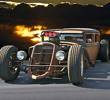 Rat Rod 'Her Wicked Ways' by DaveKoontz