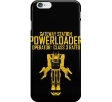Powerloader - Class 3 Rated iPhone Case/Skin