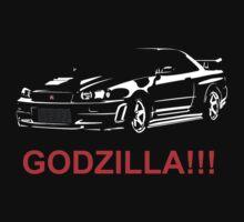 Godzilla!!! by DriftWood7