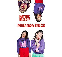 Miranda Sings x4 Photographic Print