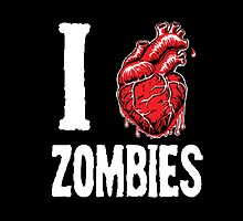 I Love Zombies by AdamKadmon15