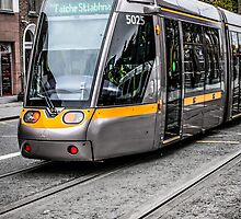 Dublin Public Trams by Chris L Smith