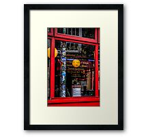 What's On The Menu Framed Print