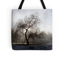 Willow in the Mist Tote Bag
