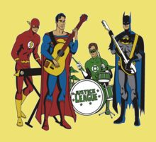 Justice League - The Band by UchimataMan