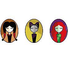 Set: Catwoman, PoisonIvy & HarleyQuinn Photographic Print