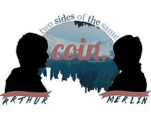BBC Merlin Two Sides of the Same Coin by dragonlxrd