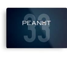 Peanut Metal Print