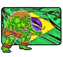 Blanka - Street Fighter 2 - Brazil by JoelCortez