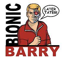 Bionic Barry Photographic Print