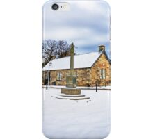 Dalmeny Mercat Cross iPhone Case/Skin