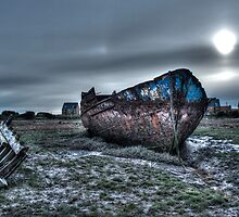 Wreck of the Eureka, Fleetwood by AlanDuggan