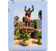 Statue Commemorating the Survivors of Slavery - Print iPad Case/Skin