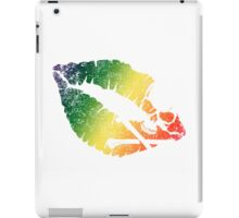 rainbow poison lips iPad Case/Skin