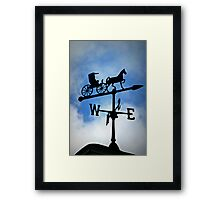Follow the Direction of Your Dreams Framed Print