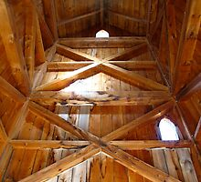 Vestibule of a Silo in St. Jacobs, Ontario by MarianBendeth
