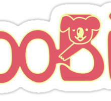 Space Dandy - BooBies Breastaurant Sticker