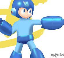 Mega Man by mindofamonkey